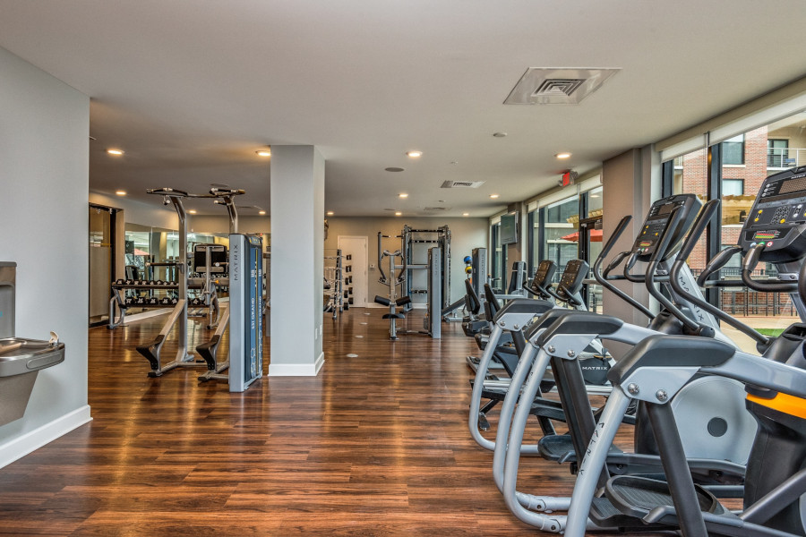 Image of the fitness center